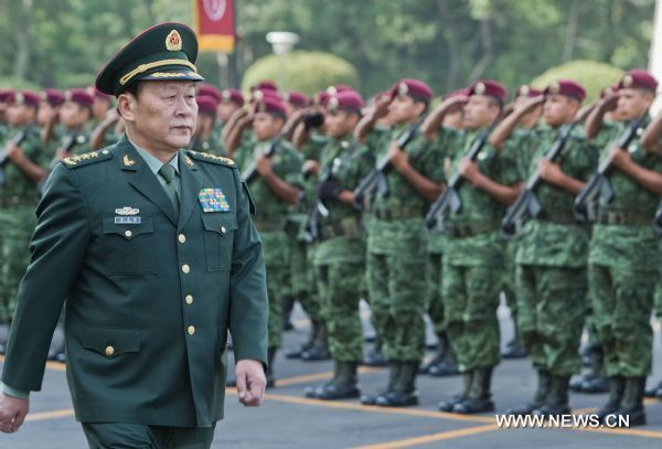 mexico and china military relationship
