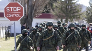 Russian troops in Crimea_3-3-14