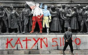Sofia communist monument vandalized