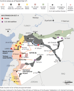 Syrian Civil War Map_9-27-15