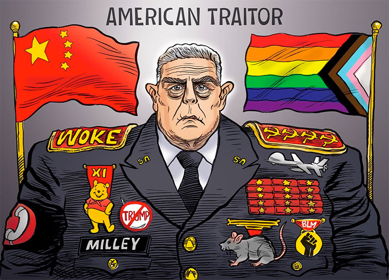Milley-American Traitor